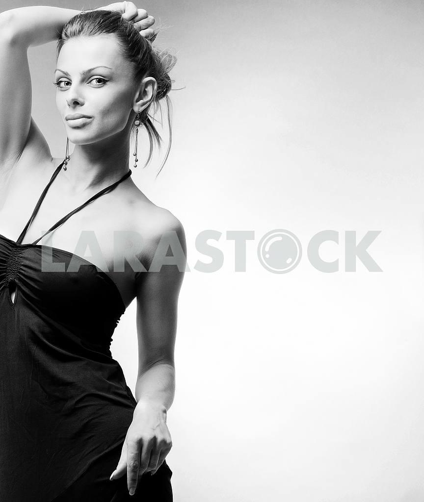 Beautiful Young woman.  In studio. — Image 10392