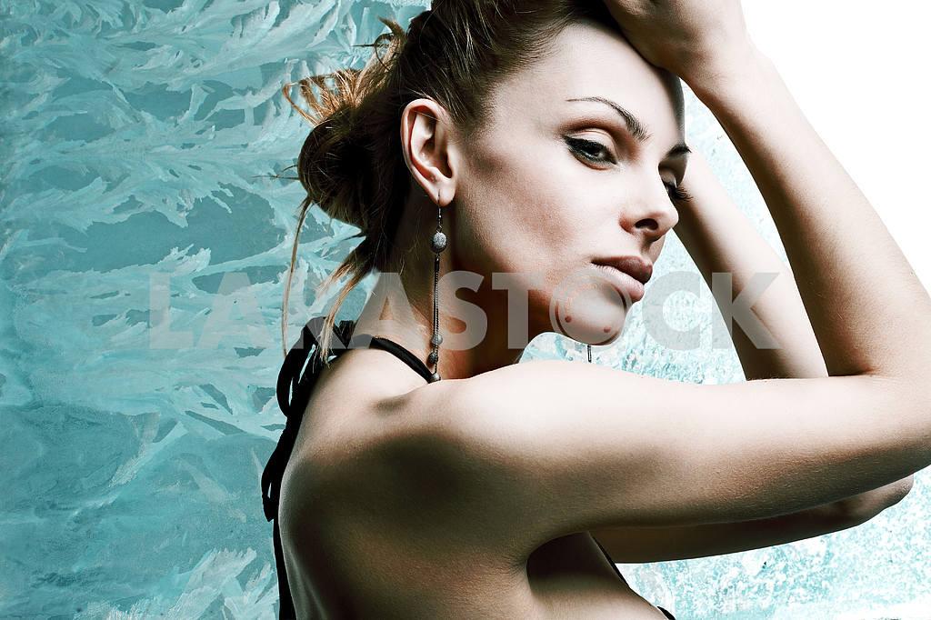 Portrait beautiful young woman — Image 10414