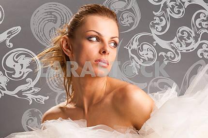 portrait of a beautiful fabulous girl