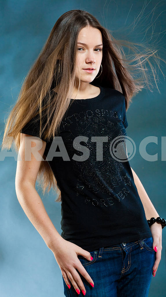 Portrait Beautiful girl — Image 10791