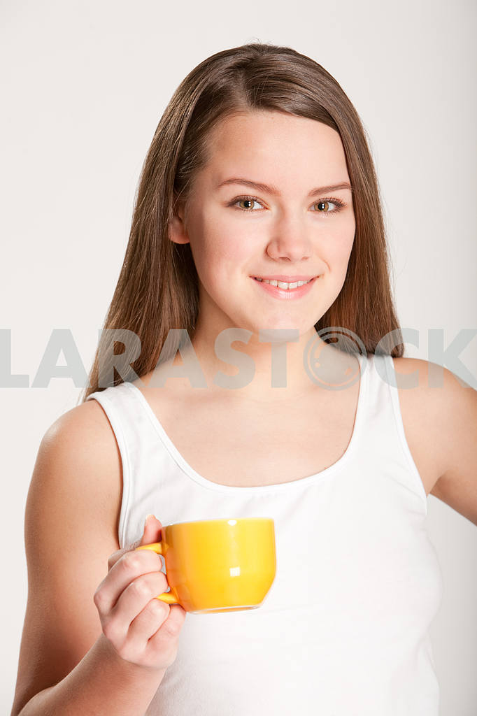 Girl with Cup — Image 10860