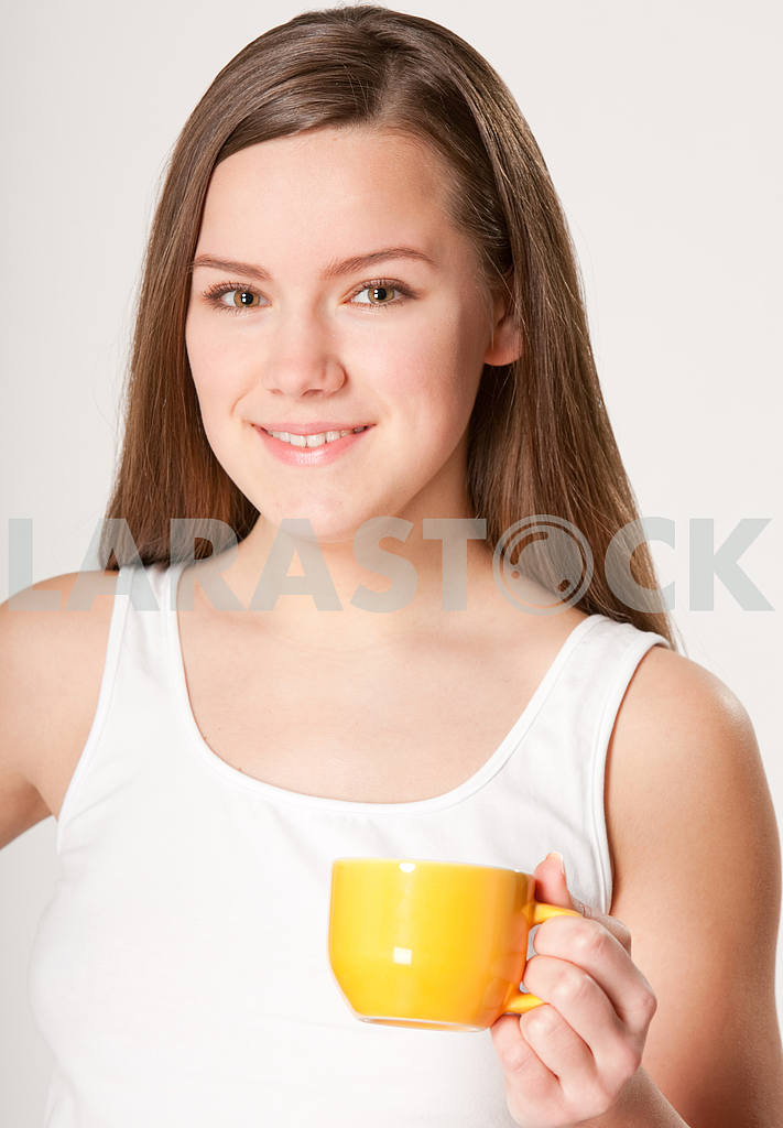 Girl with Cup — Image 10861