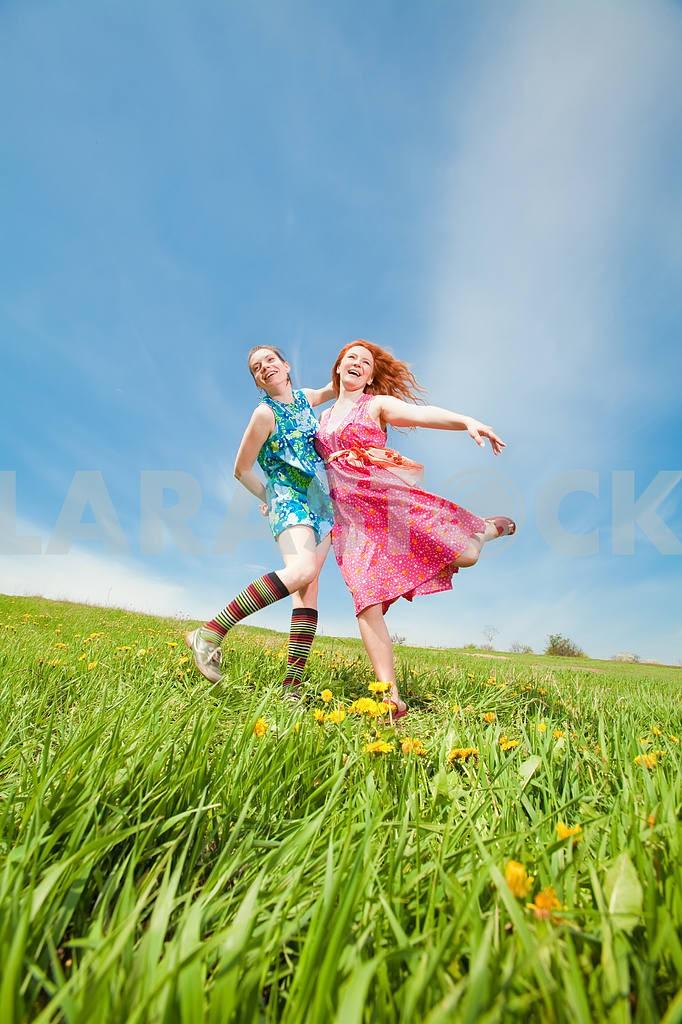 Mom and Daughter Having Fun — Image 11289