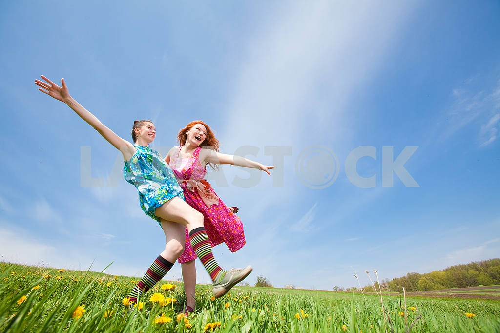 Mom and Daughter Having Fun — Image 11300