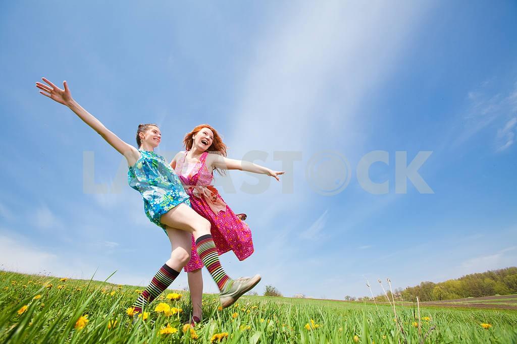 Mom and Daughter Having Fun — Image 11300