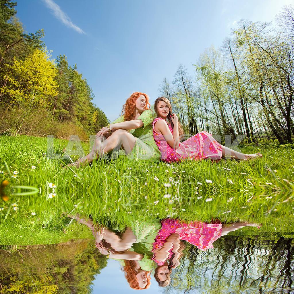 Mom and Daughter Having Fun — Image 11332