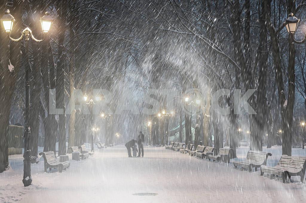 Storm in Mariinsky Park — Image 11798