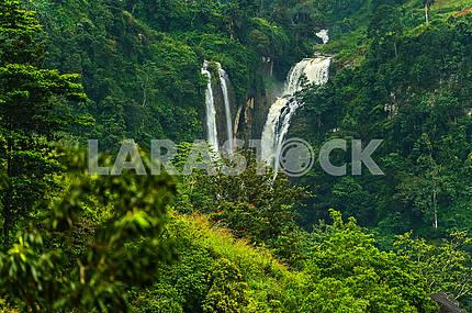 Водопад Ramboda