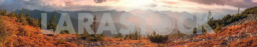 Alpine autumn in Gorgany — Image 12053