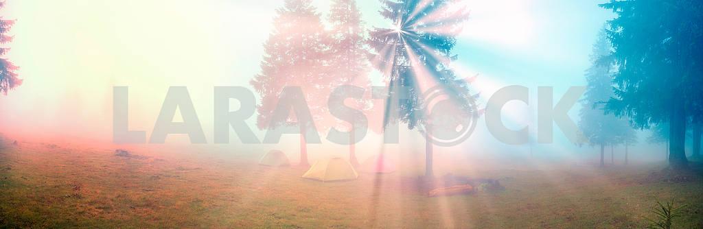 Шатер в тумане