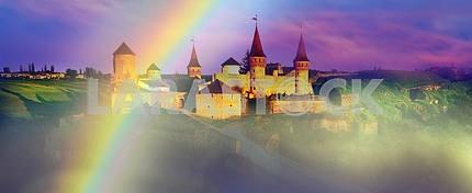 Fortress  in the town of Kamenetz-Podolsk