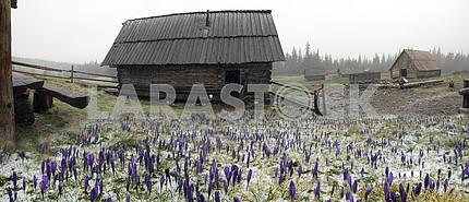 Горные хребты Украины
