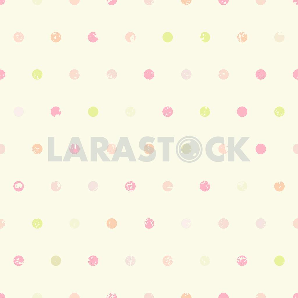 Polka dots vintage seamless pattern — Image 1298
