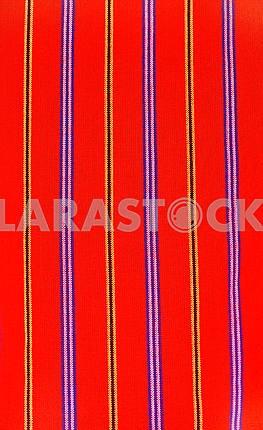 Handsome African textiles