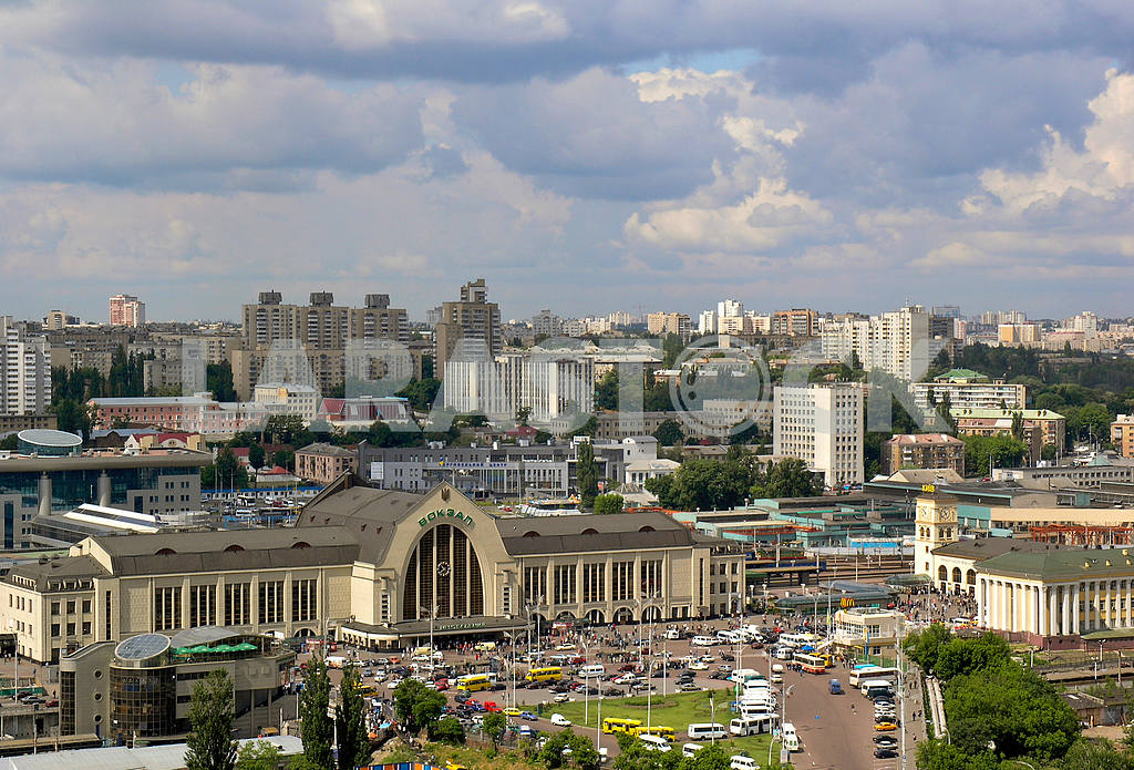 Railway station in Kiev — Image 1319