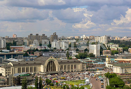 Railway station in Kiev