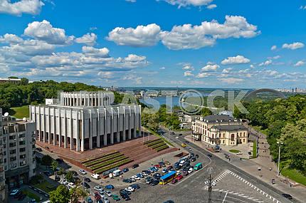 The european square in Kiev