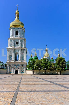 The cathedral of Sacred Sofia tower