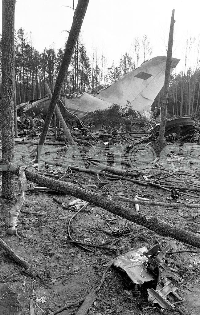 AN 124-100 Ruslan crash near Kiev — Image 13305