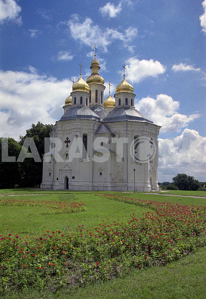 Chernihiv. Catherine's church. — Image 13360