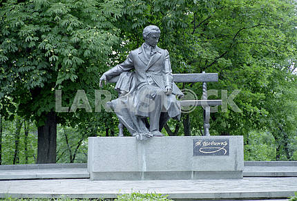 Monument to Taras Shevchenko in Chernihiv