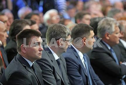 Ukrainian President Petro Poroshenko opened the  12th Yalta Annual Meeting (YES)