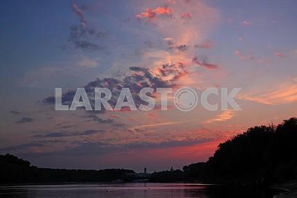 Desna river port
