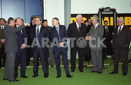 28.12.2000 OPENING indoor arena DINA
