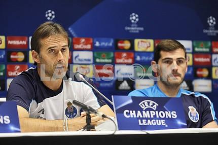 Press Conference of head  coach FC Porto Julen Lopetegui