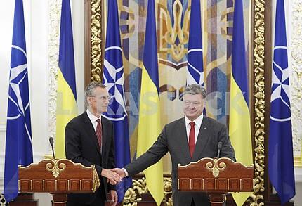 NATO General Secretary Jens Stoltenberg visits Ukraine
