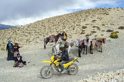 Mountain desert. Nepal
