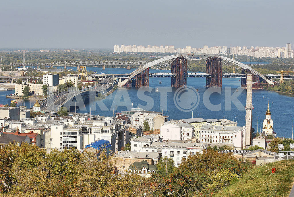 Podilsko-Voskresenskyi Bridge and Gavan Bridge,Kiev — Image 13782