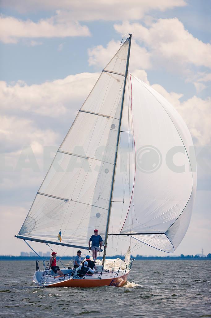 Yachts sailing — Image 13824