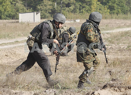 Training of the National Guard of Ukraine