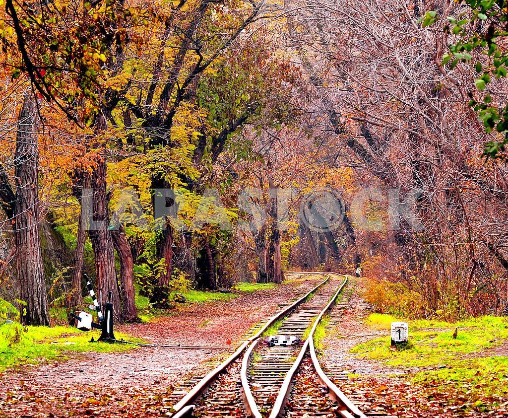 Rail tracks in Armenia — Image 1402