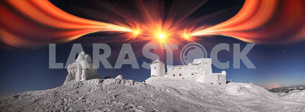Карпаты древней обсерватории