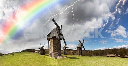 The storm over windmills