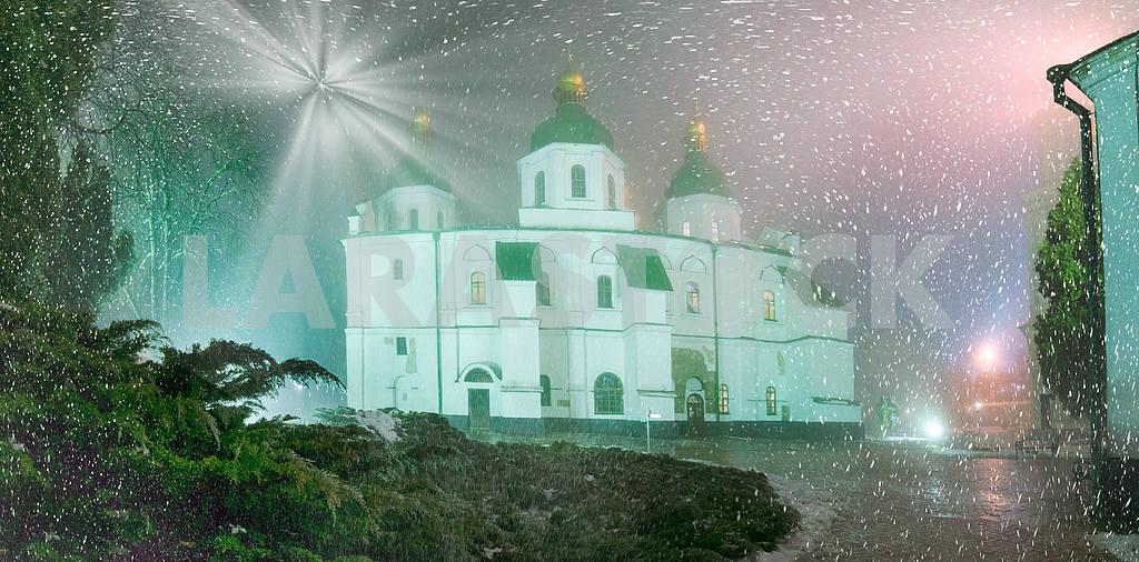 Blizzard and rain enveloped Kiev — Image 14353