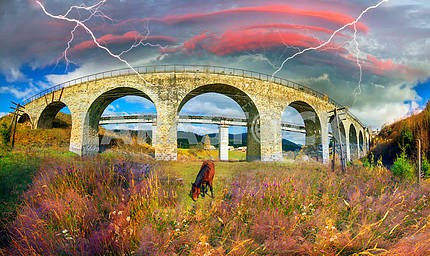 Очарование исторического моста