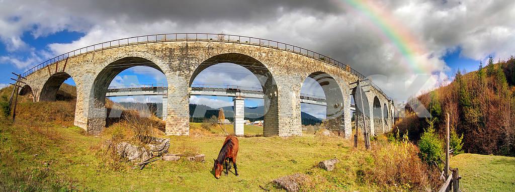 charm of the historic bridge