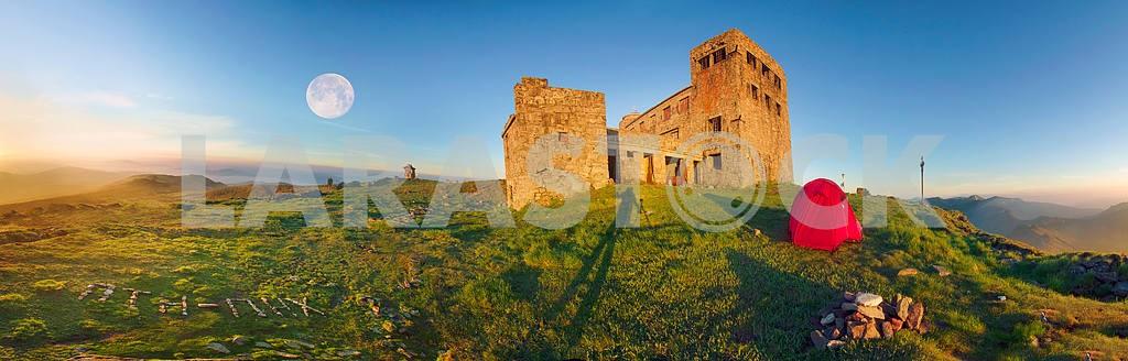 ancient stone observatory Pop Ivan