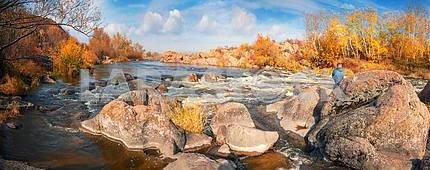 Золотая осень Южный Буг