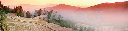 Autumn and monastery