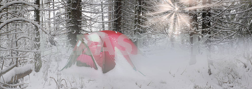 Tent after the storm — Image 14657