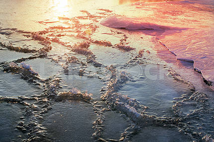 Ice on the Dnieper