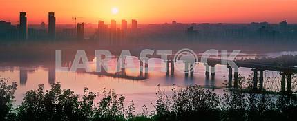 Bridge Paton at dawn