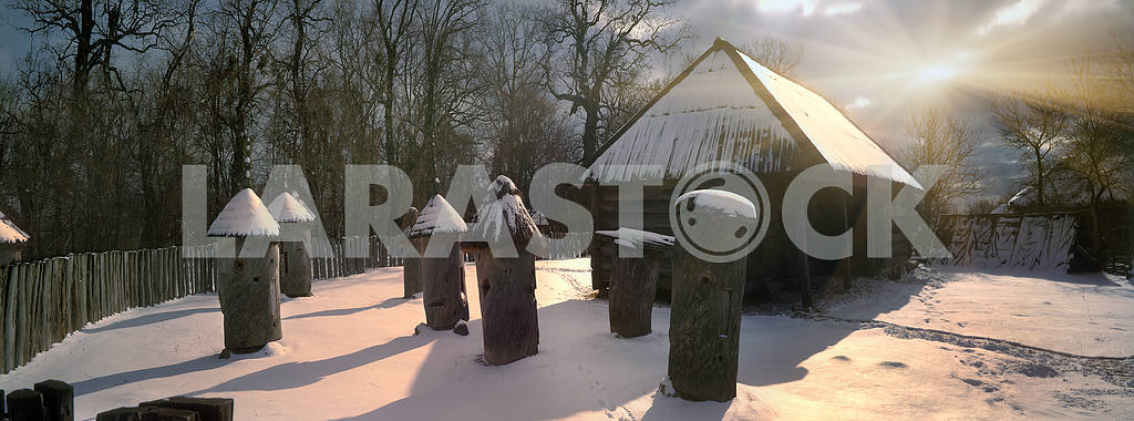Apiary winter — Image 15176