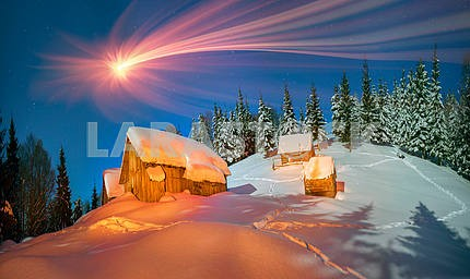 Lost alpine village