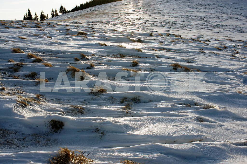 Snow patterns Carpathians — Image 15777