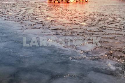 Ice on the Dnieper